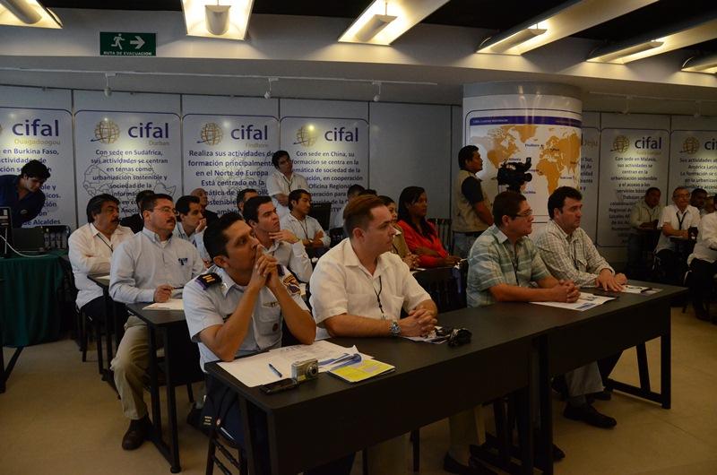 Asistentes al seminario